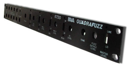 6720FP Quadrafuzz Front Panel