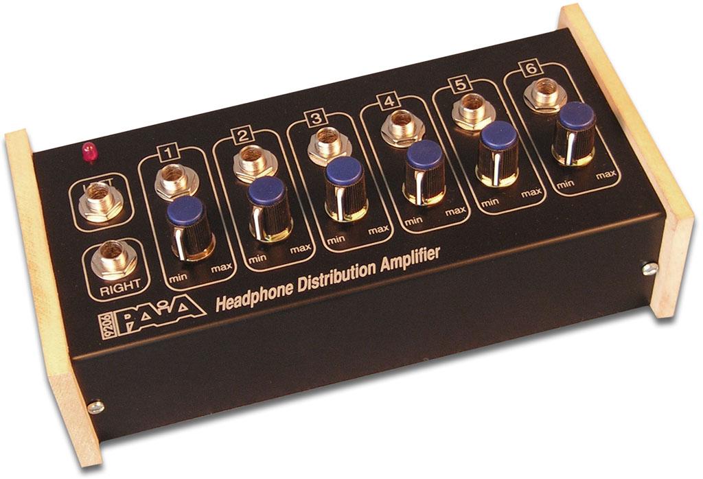 Distribuidor de Audio para Audifonos