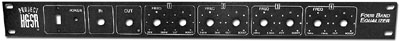 9303FP Four Band EQ Front Panel