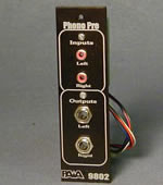 9802FRM RIAA Phono Preamp Front Panel