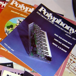 Polyphone Magazine Sample - 1983 cover